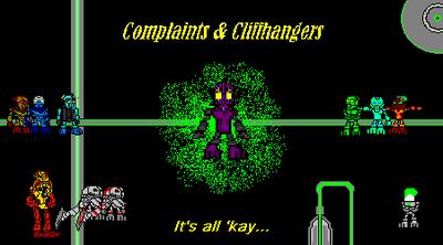 Complaints &Cliffhangers - Title banner