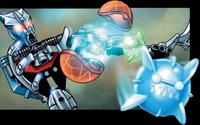 Comic Tridax Pod In Use