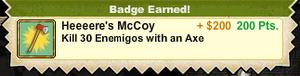 Heeeere's McCoy