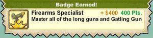 Firearms Specialist