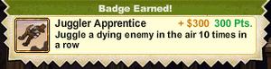 Juggler Apprentice Badge