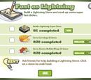 Lightning Stove Goals
