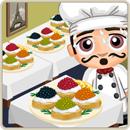 Chef special creme fraiche caviar