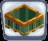 Green Block Table
