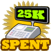 25kSpent