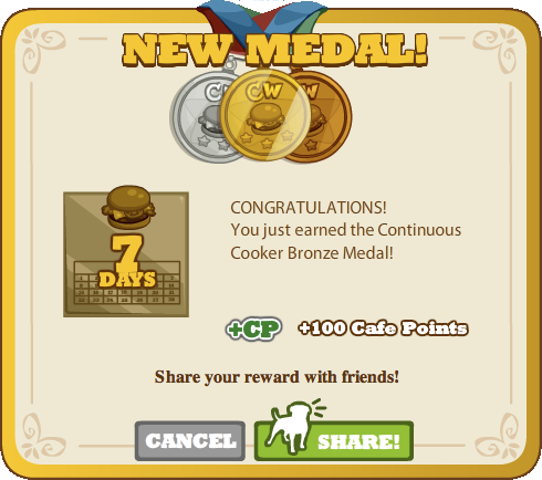 Continuous Cooker Bronze Medal