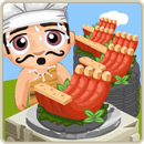 Chef special rackasaurus ribs
