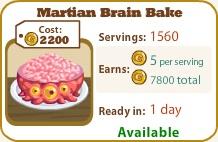 Martian Brain Bake
