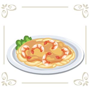 Shrimppasta