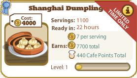 Shanghai Dumplings Cookbook Page