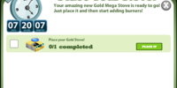 Gold 7x 50% Ultra Stove Goals