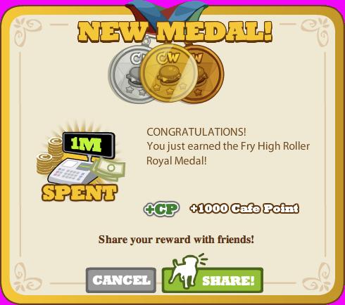 Fry High Roller Royal Medal