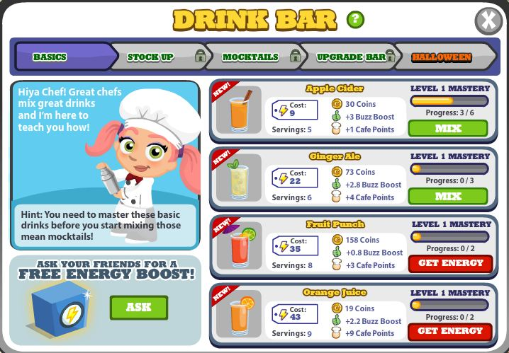 DrinkBar-Basics
