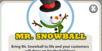Mr. Snowball