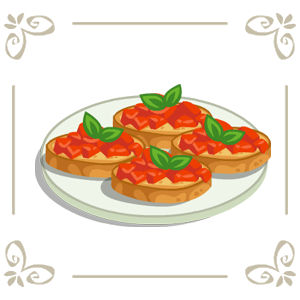 Image Bruschetta Png Cafe World Wiki Fandom Powered