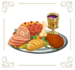 Royal feast