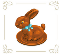 Chocolatebunnywhitebg