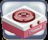 Decorative Retro Rose Oven