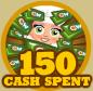 150cashSpent