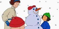 Caillou's Snowman