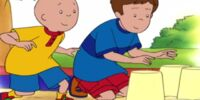 Caillou Meets Robbie