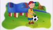 Caillou playing with a Soccer Ball (Follow Me) 0029