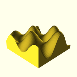 OpenSCAD mac 64-bit nvidia-geforce-gt cdiv tests regression opencsgtest surface-tests-expected