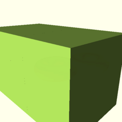 OpenSCAD mac 64-bit nvidia-geforce-gt cdiv tests regression throwntogethertest rotate extrude-tests-expected