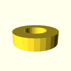 OpenSCAD linux ppc64 gallium-0.4-on hvub opencsgtest-output rotate extrude dxf-tests-actual