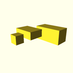 OpenSCAD mac 64-bit nvidia-geforce-gt cdiv throwntogethertest-output cube-tests-actual