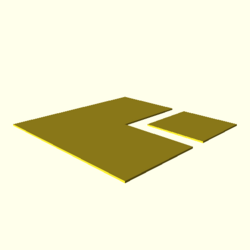 OpenSCAD linux i686 mesa-dri-r300 wicr regression opencsgtest polygons-expected