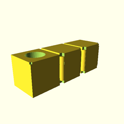 OpenSCAD linux ppc64 gallium-0.4-on hvub regression cgalpngtest render-tests-expected