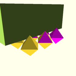 OpenSCAD linux ppc64 gallium-0.4-on hvub regression throwntogethertest polyhedron-tests-expected