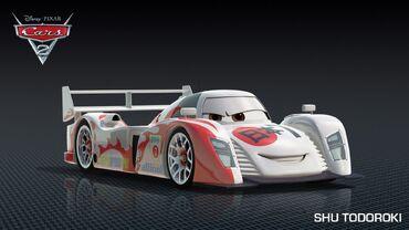 Cars 2 Shu Todoroki
