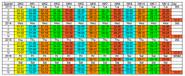National Week Date Calendar 2013-05-25