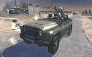 UAZ-469 The Enemy of My Enemy MW2
