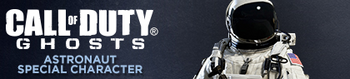 Astronaut Special Character Banner CoDG