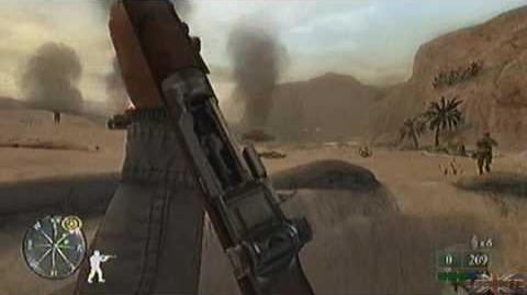 Call of Duty 2 Big Red One - Tunisia, Mission 3 Part 1