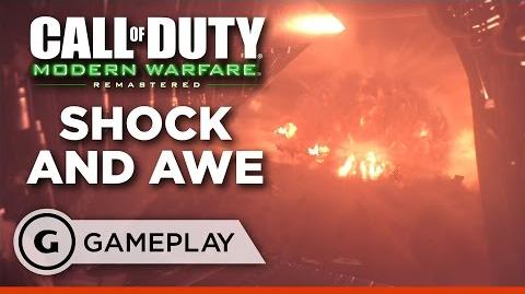 """Shock and Awe"" Full Mission - Call of Duty Modern Warfare Remastered Gameplay"