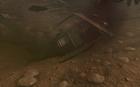 Destroyed Huey underwater Victor Charlie BO