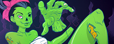 File:Zombie Woman Calling Card IW.png