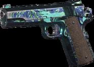 M1911 .45 Neon Tiger MWR