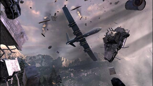 File:MQ1-Predator destroying scaffolding Persona non Grata MW3.png