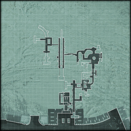 Bag and Drag minimap catacombs MW3