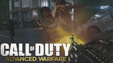 CoD AW ZOMBIES Training Full Horde! Call of Duty Advanced Warfare Exo Zombies Mode Gameplay