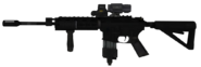 M4A1 Hybrid Sight Third Person MW3