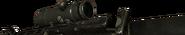 M16 American ACOG Side View BO