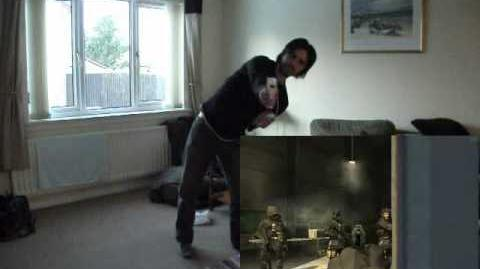Call of Duty FPS on Kinect Hack (FAAST) with Wiimote (GlovePIE)