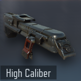 High Caliber menu icon BO3