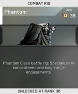 Phantom Unlock Card IW